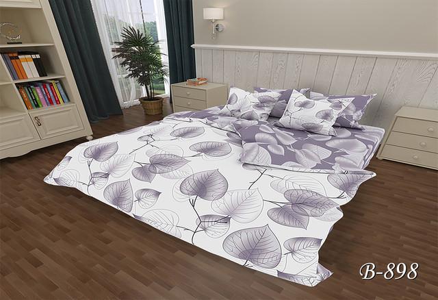 Двуспальное постельное белье Тет-А-Тет В-737 бязь