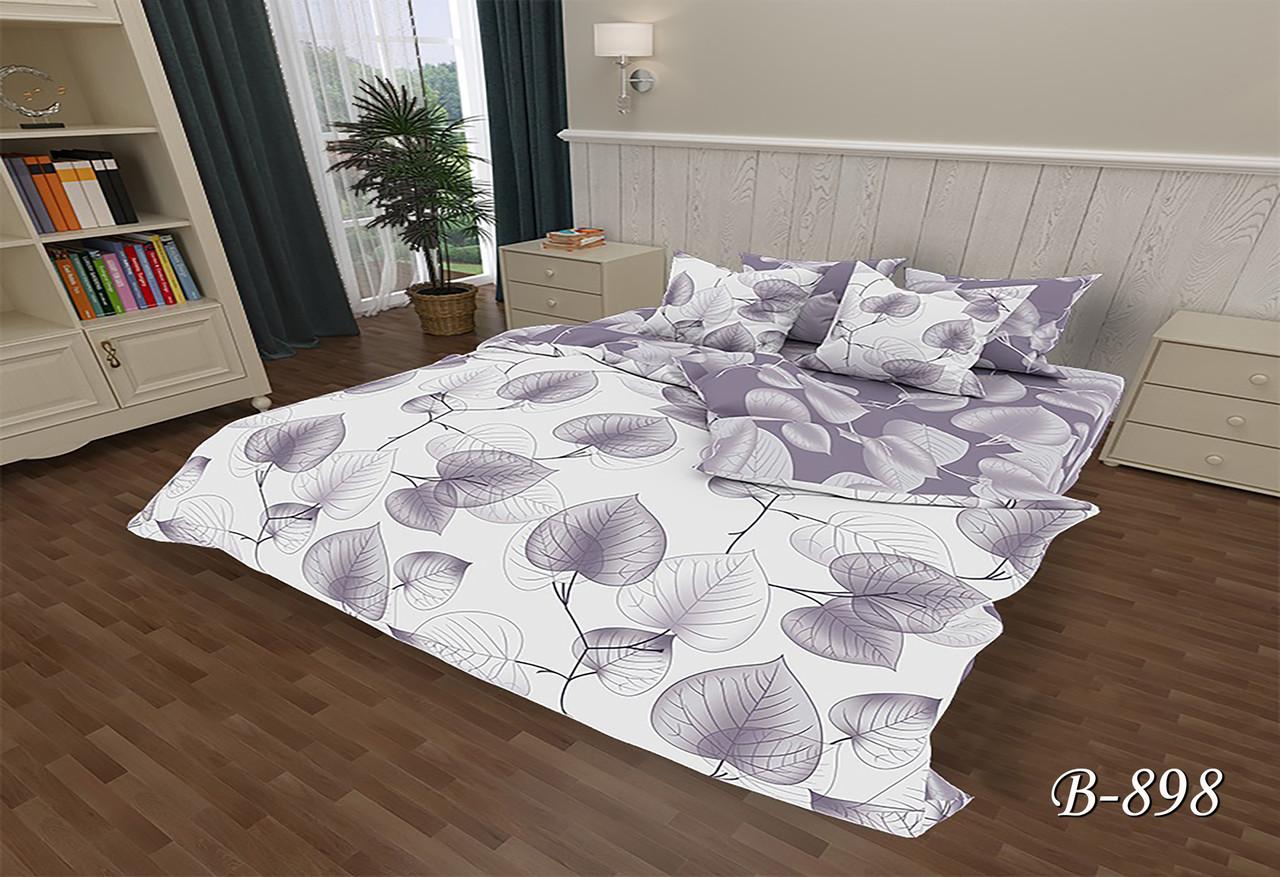Двуспальное постельное белье Тет-А-Тет В-898 бязь (эконом)