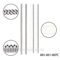 3D наклейки для дизайна ногтей на липкой основе. Полосочки.Stick-SA-3D