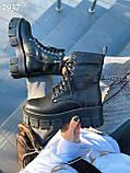 Женские ботинки ДЕМИ черные на шнуровке натуральная кожа весна/ осень, фото 2