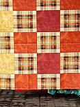 Комплект постельного белья из бязи Голд двуспальный Шотланка коричневая, фото 2
