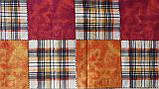 Комплект постельного белья из бязи Голд двуспальный Шотланка коричневая, фото 4