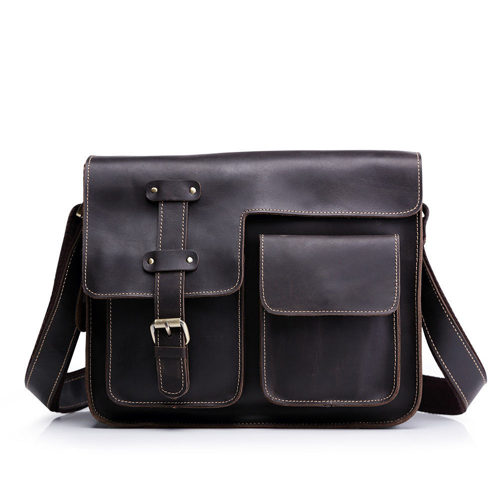 72b8cf5b0022 Кожаная сумка через плечо BEXHILL Bx1050 - Интернет-магазин мужских  аксессуаров I-MAN в