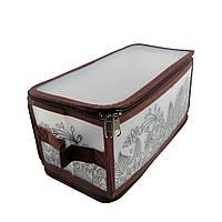 Коробка для хранения на молнии серый ESH03 S