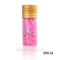 Слюда и пайетки в бутылочках     код: DFB
