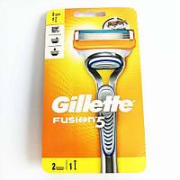 Бритва Gillette Fusion5 з 2 змінними картриджами, фото 1