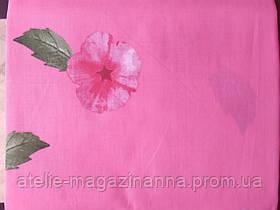 Простирадло євро 220*240 бязь голд рожева