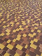 """Тротуарна плитка """"старе місто"""" 40 мм. сіра"""