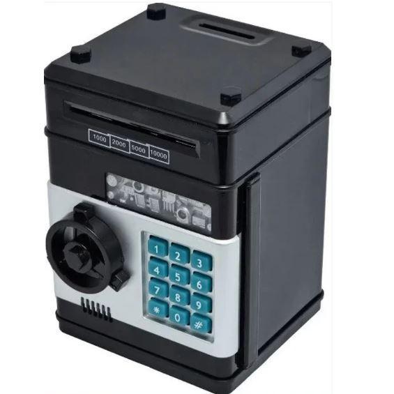 Електронна скарбничка Number Bank, сейф c кодовим замком