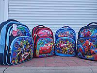 Рюкзак шкільний з 3D малюнком СУПЕРГЕРОЇВ, фото 1