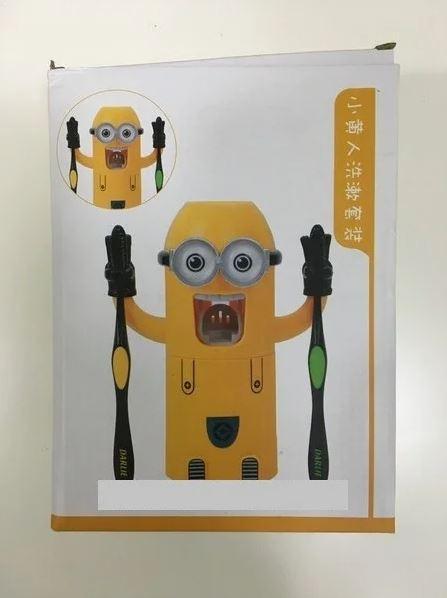 Дозатор для зубной пасты Миньон держатель для зубных щеток