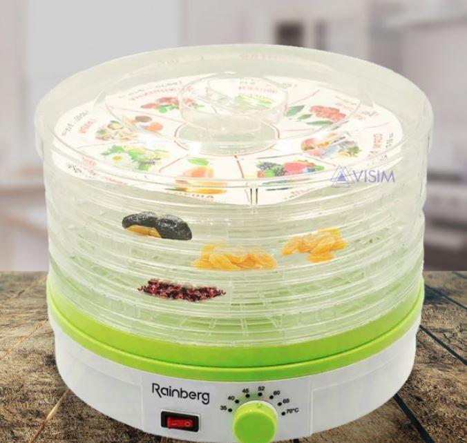 Сушарка електрична для овочів і фруктів Rainberg