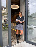 Модна Спідниця Жіноча зі складками, фото 8