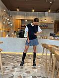 Модна Спідниця Жіноча зі складками, фото 7
