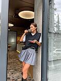 Модна Спідниця Жіноча зі складками, фото 9