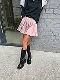Модна Спідниця Жіноча зі складками, фото 2