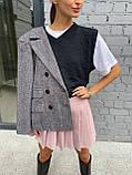 Модна Спідниця Жіноча зі складками, фото 3