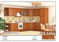 Кухня Ника рамка 2,0м
