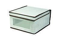 Короб для хранения 30х28х15 см ESH07 с крышкой