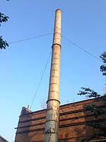 Дымовые и вентиляционные трубы, мачты молниезащиты и освещения высотой до 50 метров; 5. Технологические водопр