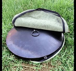 Чохол для сковороди з диска 30см з брезенту, фото 2