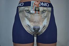 Боксеры мужские Uomo 3D волк