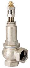 Предохранительные клапана с настройкой 1-12 бар вода,пар