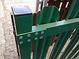 Забор из металлического штакетника, фото 7