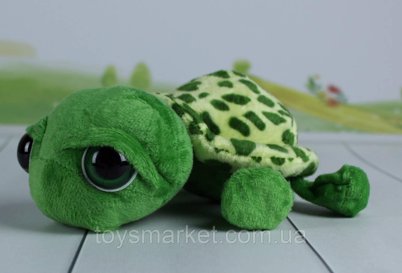 Мягкая игрушка Черепаха, плюшевая черепаха, 20 см.