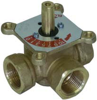 """Трехходовой смесительный клапан 2"""" Meibes ELOMIX EM3-50-40 (Германия)"""