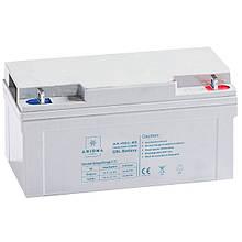 Аккумулятор АКБ гелевый 12В 65Ач, AX-GEL-65, AXIOMA energy