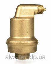 Воздухоотводчики прямые и угловые для удаления воздуха из систем отопления и гелиосистем