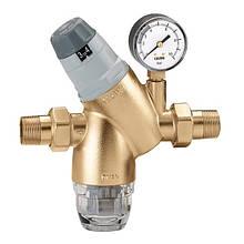 """Редуктор давления воды 3/4"""" + фильтр  535150  Caleffi (Италия)"""