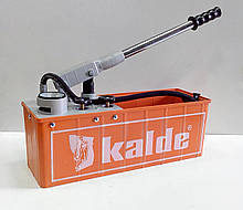 Опрессовыватель (ручной насос) для закачки и проверки систем отопления и водоснабжения (Турция)