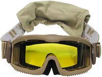 """Очки тактические защитные с 2 сменными стёклами MFH """"Thunder deluxe"""""""