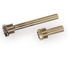Погружная гильза для термометров и датчиков точеная (L - 100мм.)