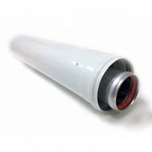 Удлинитель коаксиальный для газового котла ф60/100 мм L=1м.