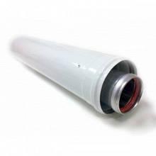 Удлинитель коаксиальный для газового котла ф60/100 мм L=0,5м.