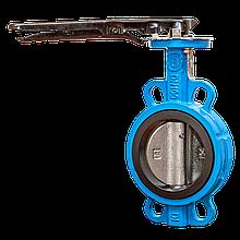 Засувка Батерфляй Ду 100 EFEKT з чавунним диском ущільнення EPDM (Польща)