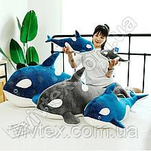Плед іграшка дельфін і подушка 3в1