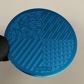 Пластина для стемпинга (круглая) YZWLE 18
