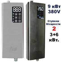 Котел электрический ARTI ES, 12,0 кВт 380 В с нерж. стали, термостатами и защитой от работы без воды