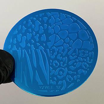 Пластина для стемпинга (круглая) YZWLE 12