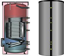 Бойлер HLS-Plus 301  с 3-мя змеевиками большой мощности для конденс котлов и тепловых насосов Meibes(Германия)