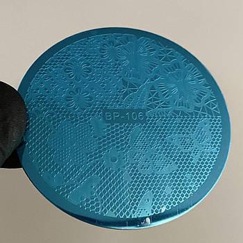 Пластина для стемпинга (круглая)  BP 106