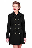 Женское демисезонное пальто ДИОНА, кашемировое, новая коллекция 2016 года