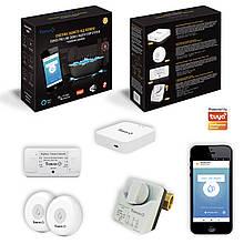 """Система захисту від потопу з бездротовими датчиками Tervix ZigBee+Wi-Fi Water Stop з 2-ма кранами 3/4 """""""