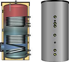 Бойлер косвенного нагрева (бак ГВС) с 2-мя змеевиками ESS-PU 400 MEIBES-HUCH (Германия) с несъемной изоляцией