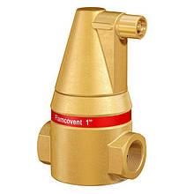 """Деаэратор (воздухоотводчик, сепаратор воздуха) системы отопления  Flamcovent 1"""" Flamco (Нидерланды)"""