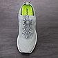 Шнурки эластичные с фиксаторами Резиновые шнурки для обуви/ кроссовок с быстрой застежкой. Цвет белый, фото 5
